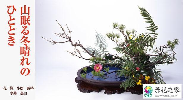 日本插花的历史图片
